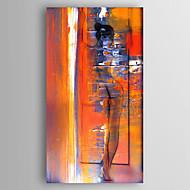 Hånd-malede Abstrakt Abstrakt Landskab Vertikal,Moderne Et Panel Kanvas Hang-Painted Oliemaleri For Hjem Dekoration