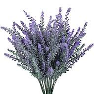 1 ענף פוליאסטר פרחים לשולחן פרחים מלאכותיים 10
