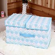 Коробки для хранения Мешки для хранения Единицы хранения Текстиль сОсобенность является С крышкой , Для Бельё Ткань