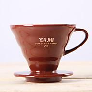 ml  Ceramic Coffee Filter , 2 cups Drip Coffee Maker Reusable