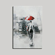 Handgemalte Abstrakt Menschen Horizontal,Europäischer Stil Modern Ein Panel Hang-Ölgemälde For Haus Dekoration