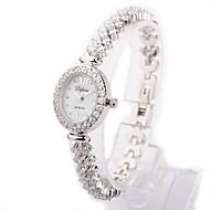 Fashion Watch Bracelet Watch Quartz Alloy Band White