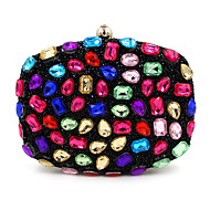 L.WEST Women Polyester Formal Casual Event/Party Wedding Office & Career Evening Bag