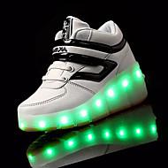 Atletické boty-PU-Light Up botyModrá Růžová Black / Green Black / Red Černá bílá-Outdoor-Kačenka