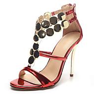 Sandale Ljeto Inovativne cipele Klub obuća Lakirana koža Vjenčanje Formalne prilike Zabava i večer Stiletto potpeticaŠljokice