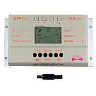 Y-태양 30A LCD 디스플레이 태양 광 충전 컨트롤러 12V 및 24V 자동 스위치 M30