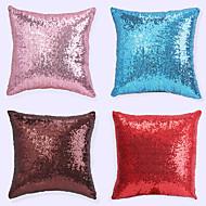 1 pcs European Sequins Polyester Pillow CaseNovelty Modern/Contemporary Casual