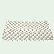 L60 x B40 x H10(lave ende)-13(høje ende)cm Naturlig Latex Pude