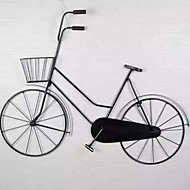 Cheap wall decor online wall decor for 2017 - Wrought iron bicycle wall art ...