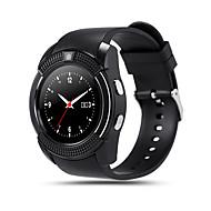 kimlink® v8 smartwatch kamera berøringsskjerm handsfree call pedometer fjernkontroll fitness tracker