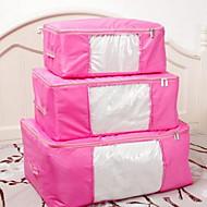 Коробки для хранения Мешки для хранения Единицы хранения Текстиль сОсобенность является С крышкой , Для Ткань Стеганныеодеяла