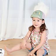 Kid's Cute Cotton Knitting  Cat Baseball  Hat