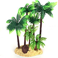 Akvarij Dekoracija Vodena biljka Netoksično i bezukusno Plastika Zelen