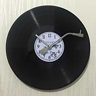 Tradicional Regional Retro Férias Música Família Relógio de parede,Redonda Poliresina 30*30 Interior/Exterior Interior Relógio