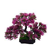 1 Afdeling Polyester Planter Bordblomst Kunstige blomster 22