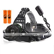 Čelovky LED 2000 Lumenů 3 Režim Cree XM-L T6 18650 Kompaktní velikostKempování a turistika Každodenní použití Cyklistika Lov cestování