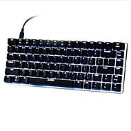 igraći miš USB Mehanička tipkovnica gaming tipkovnica Ergonomska tipkovnica USB zelena osmonokromatski pozadinsko osvjetljenje Multi Boja