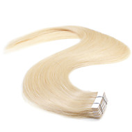 neitsi 20 '' 50g tape in human hair extensions 5a leerjaar 20st straight huid inslag extensies bleken blonde #