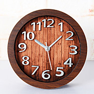 Moderne/Contemporain Niches Horloge murale,Nouveauté Bois Autres 12 Intérieur Horloge