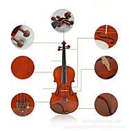 Electric Violin Gloss String Musical Instrument Case Art violin
