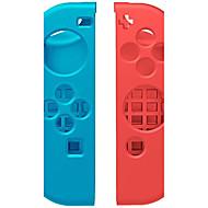 Silicone Protective Cover Case for Nintendo Switch NS Left/Right Joy-Con Controller (Multicolor)