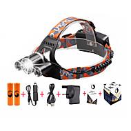 Čelovky LED 5000 Lumenů 4.0 Režim Cree XP-G R5 Cree XM-L T6 18650 Kompaktní velikostKempování a turistika Každodenní použití Cyklistika
