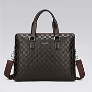 Men PU Formal Office & Career Briefcase