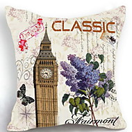 1 pcs Cotton Pillow Case ThrowsFloral Graphic Prints Traditional/Classic(Random cartoon)