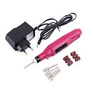 rosa nail art kit nail art manikyr verktygslåda makeup kosmetiska nail art diy