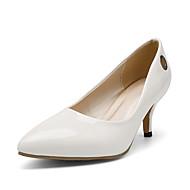 עקבים-PU-נעלי מועדון-שחור אדום לבן-משרד ועבודה שמלה מסיבה וערב-עקב סטילטו