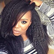 top syntetyczne koronki przodu peruka mody kręcone prosto peruki naturalne czarne odporne koronki ciepła peruki przednie kobiet