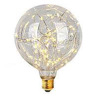 3W E26/E27 LED-glødepærer G95 47 Integrert LED 300 lm Varm hvit Dekorativ AC 220-240 V 1 stk.