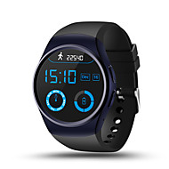 lemfo les16 multifunksjons smart armbånd / smartur / bluetooth 4.0 mtk2502 / sim / gps / støtte sim TF kort pulsklokke klokke