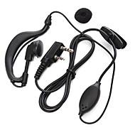 365 walkie talkie earphone transceiver mikrofon hendig talkie øreplugg universell for baofeng 365 Wanhua TYT HYT