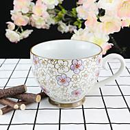 Barevný Sklenice, 330 ml Pro vícero použití Porcelánové Čaj Akt Hrnečky Kávové šálky