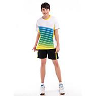 Set di vestiti/Completi-Badminton-Per uomo-Comodo-Bianco Rosso Blu