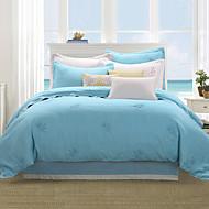 turqua QUESTA BOSSA MIA 100% Linen Entry Lux 4pcs Bedding Duvet Cover Set Including Comforter Case Fitted Sheet Pillowcases