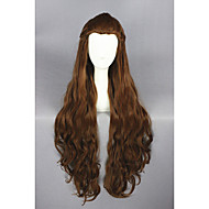 longue vague hobbits-Tauriel brun 32inch perruque cosplay anime cs-197a