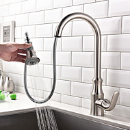 Pull-out/Pull-down Kitchen Faucet Standard Spout Centerset Thermostatic Rain Shower Pullout Spray Taps for Kitchen