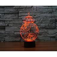 in tausend Falken 3 d Licht Yakeli ist Stereo-Licht geführt bunte Farbverlauf Atmosphäre Lampe