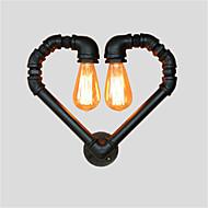 AC 100-240 120 E26/E27 Rustikk Retro Vintage Maleri Trekk for Mini Stil,Atmosfærelys Vegglamper Vegglampe