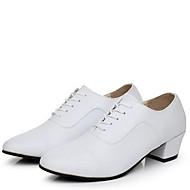 Na míru-Pánské-Taneční boty-Moderní-Kůže-Nízký podpatek