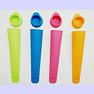silikonová zmrzlinu forma náhodné barvy