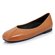 Women's Flats Spring Summer Comfort Ballerina Light Soles Leatherette Outdoor Dress Casual Flat Heel