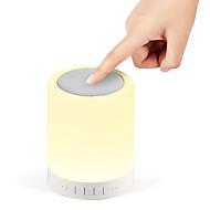 S17 smart bærbar lampe med høyttaler og flere lyse farger