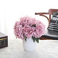 1 Větev Polyester Umělá hmota Pivoňky Květina na stůl Umělé květiny 9*7