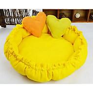 psa měkkou postel s polštářem