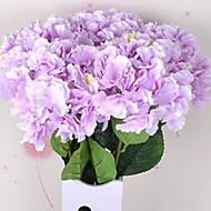 1 Větev Vlákno Hortenzie Květina na stůl Umělé květiny 20*20*86