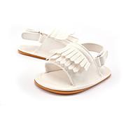 Enfants-Mariage Extérieure Habillé Décontracté Soirée & Evénement-Or Blanc Rose-Talon Plat-Premières Chaussures-Sandales-Similicuir