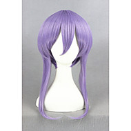 kort lys lilla seraph af enden Hiiragi shinoa syntetisk 16inch anime cosplay wigcs-245c